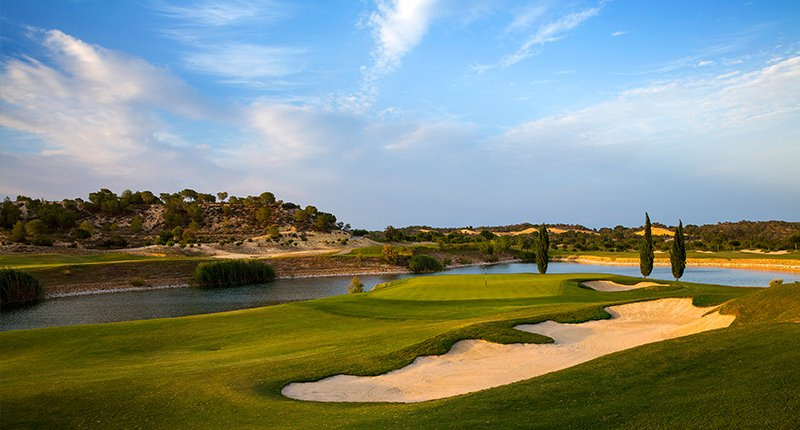 Las Colinas Golf Course Spain golf holidays